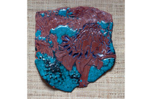 Ceramic, Clay, Glaze, Plate, Peridot, fauna,